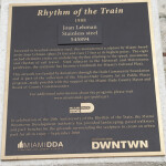 A Plaque Providing Information About an Artistic Installation