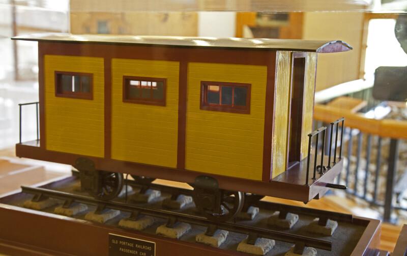 A Railroad Car for Passengers