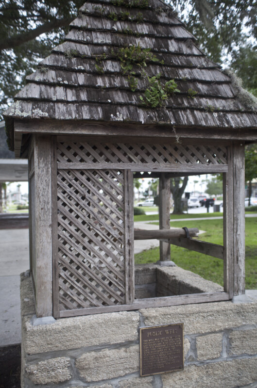 A Reconstructed Public Well