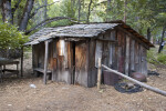 A Recreation of the Type of Cabin Used by the Miwok in the Early Twentieth Century
