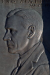 A Relief Carving of Stephen Tyng Mather
