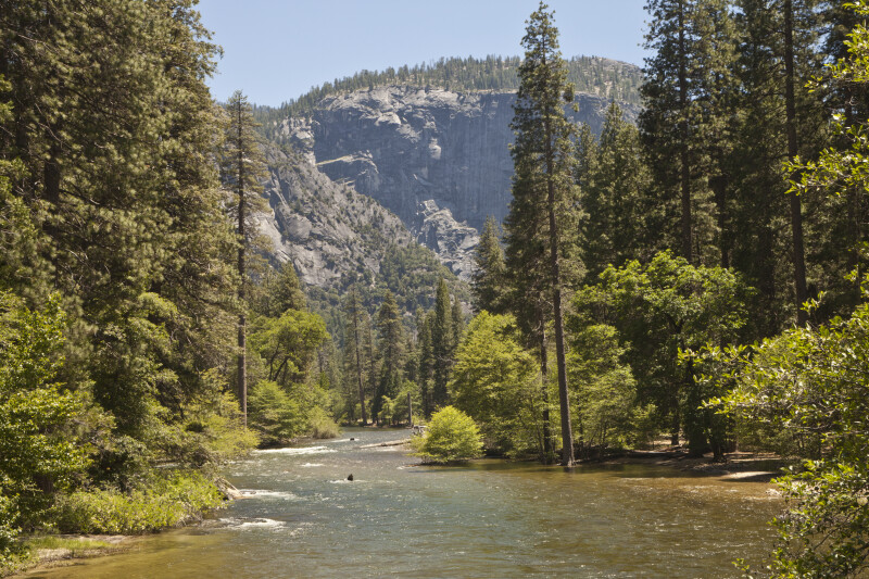 A River in the Yosemite Valley