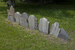 A Row of Headstones