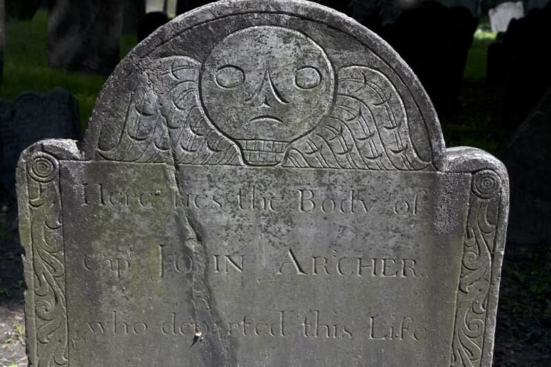 A Rudimentary Death's Head Motif