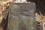 A Sculptural Representation of a Holy Bible