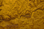 A Section of a Model Showing the Topography along the Little Conemaugh River