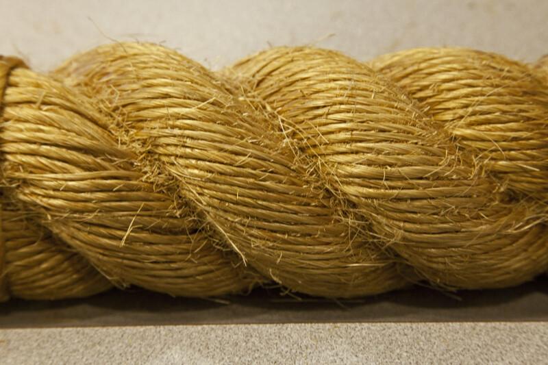 A Segment of Fiber Rope