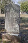 A Shouldered Die on Base Headstone