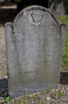 A Shouldered Tablet Headstone at the Granary