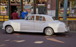 A Side View of a 1959 Bentley S1 Standard Saloon
