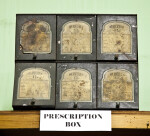 A Six-Drawer Prescription Box
