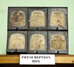 A Six-Drawer Prescription Box