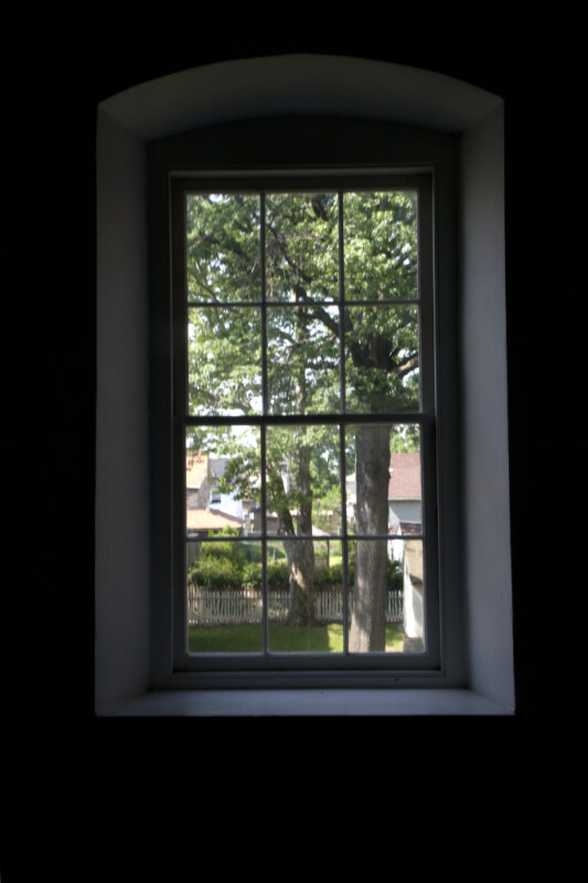 A Six-Over-Six Sash Window