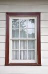 A Six-Over-Six Sash Window
