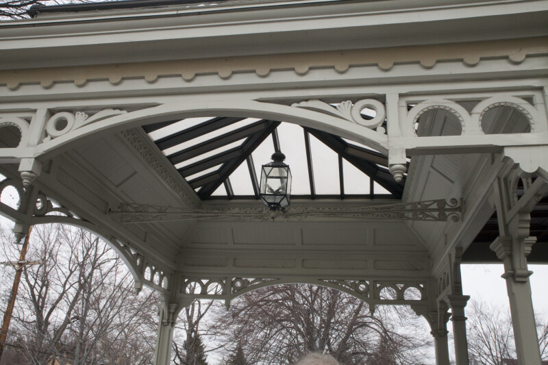 A Skylight above the Porch at Clayton