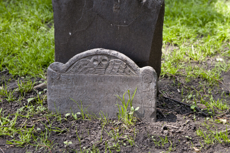 A Small Shouldered Tablet Headstone