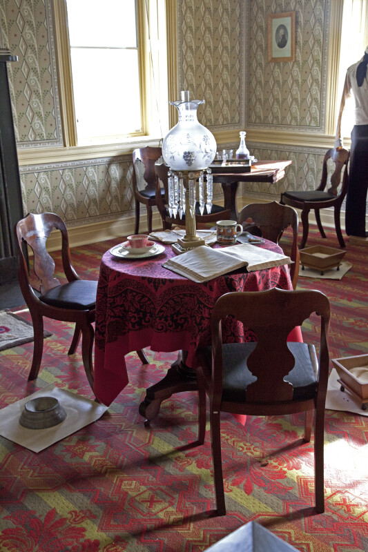 A Small Table in a Parlor