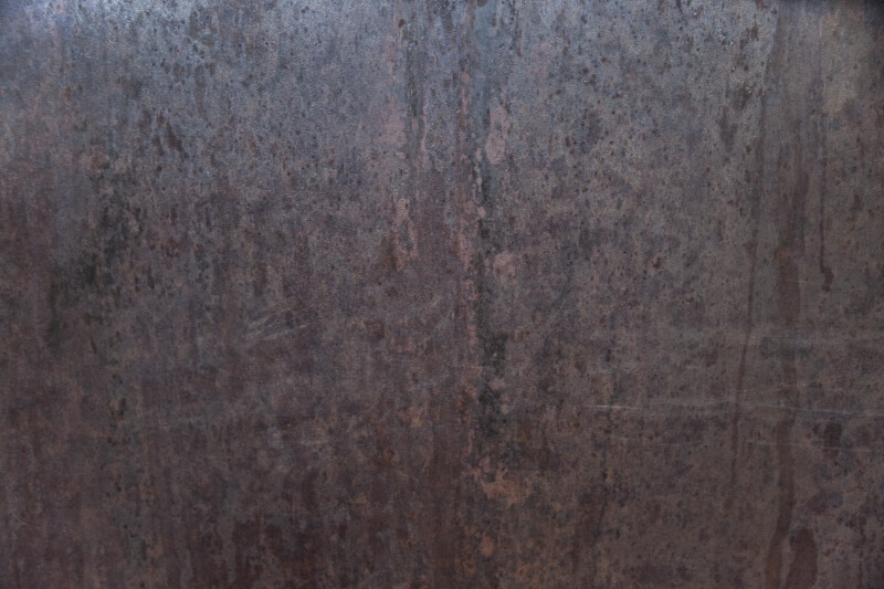 A Smooth Rusted Metal Surface