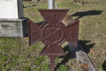 A Southern Cross of Honor near a Grave