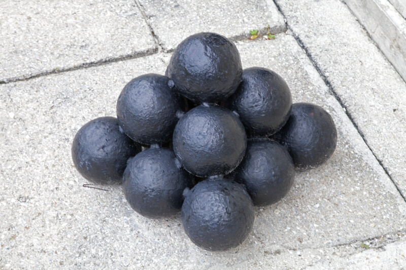 A Stack of Cannon Balls