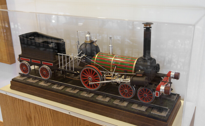 A Steam-Powered Locomotive Engine