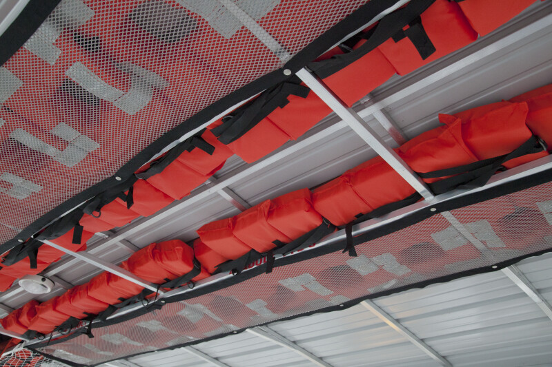 A Storage Area for Life Vests