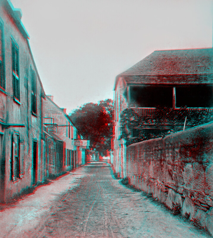 A Street in St. Augustine.