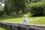 A Sundial in a Cemetery