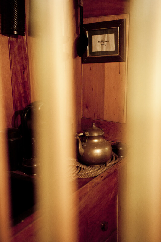 A Tea Kettle in a Locked Room