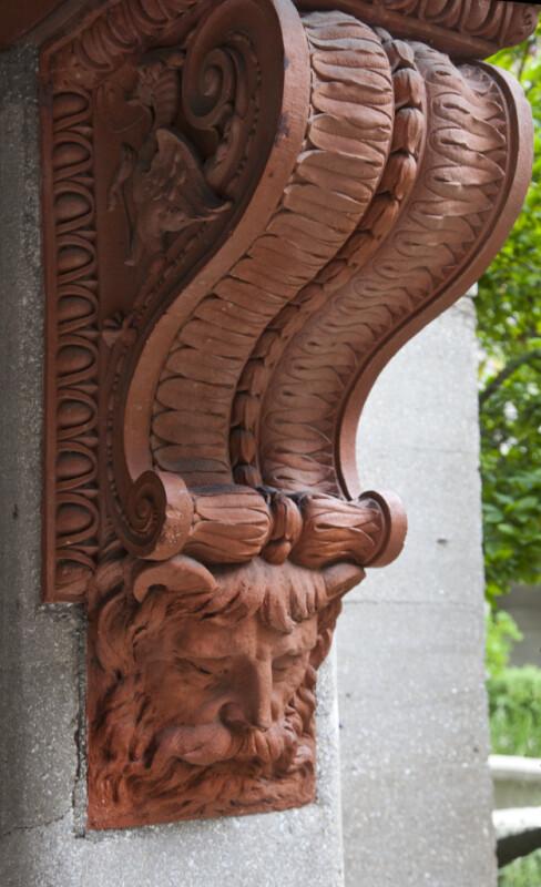 A Terracotta Corbel
