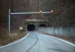 A Traffic Light near a Tunnel