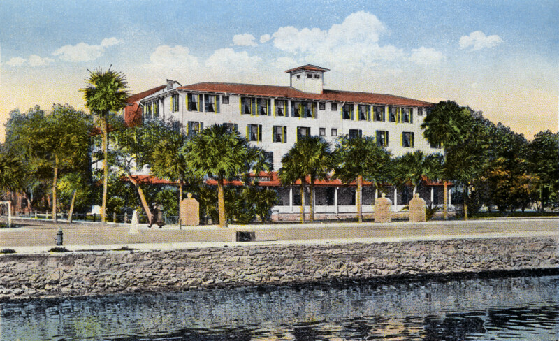 A View from the Water, Toward the Prince George Hotel