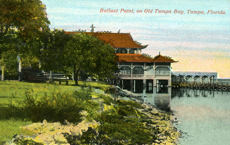 A View of Ballast Point, on Old Tampa Bay, Tampa, Florida