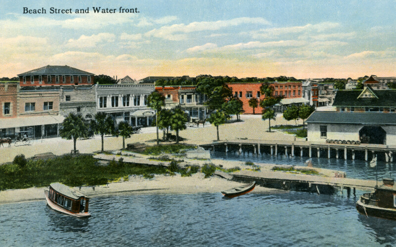 A View of Beach Street and the Waterfront