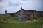 A View of Castillo de San Marcos from the Northwest
