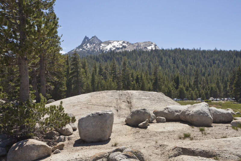 A View of Cathedral Peak