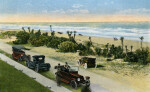 A View of Daytona Beach from Seaside Inn, Daytona Beach