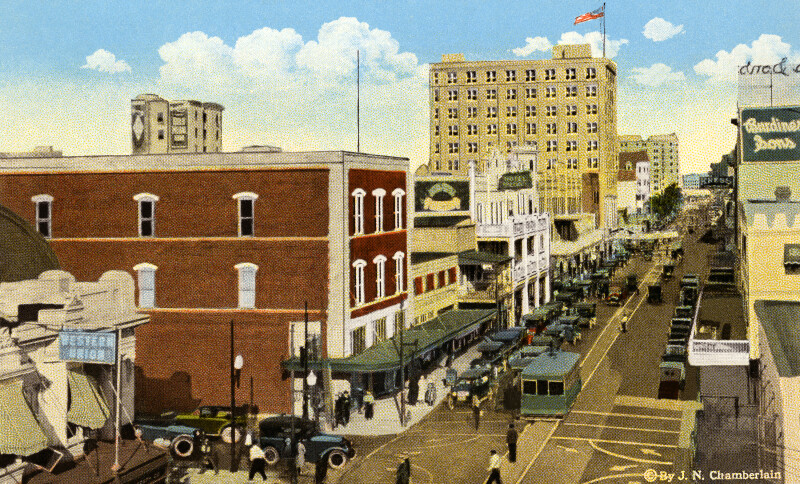 A View of Flagler Street