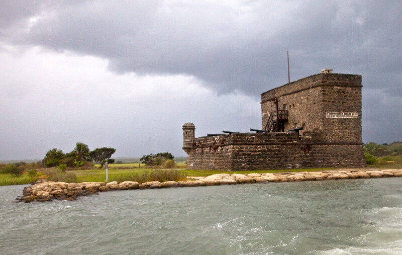 A View of Fort Matanzas, from over the Water