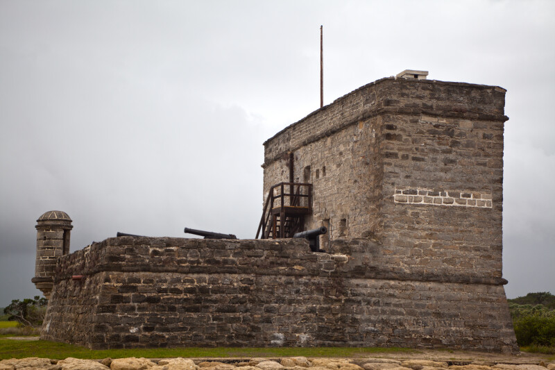 A View of Fort Matanzas, from the East