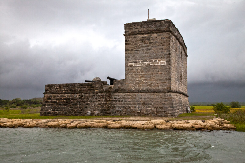 A View of Fort Matanzas, from the East-North-East