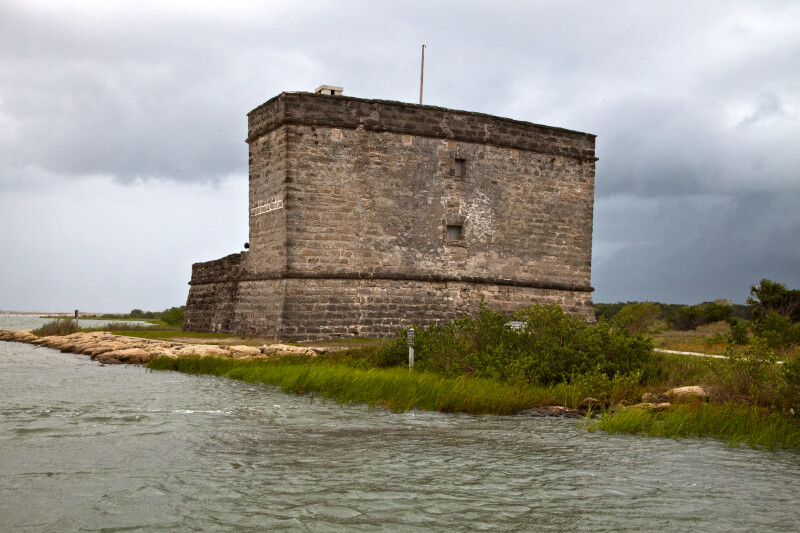 A View of Fort Matanzas, from the North-Northeast