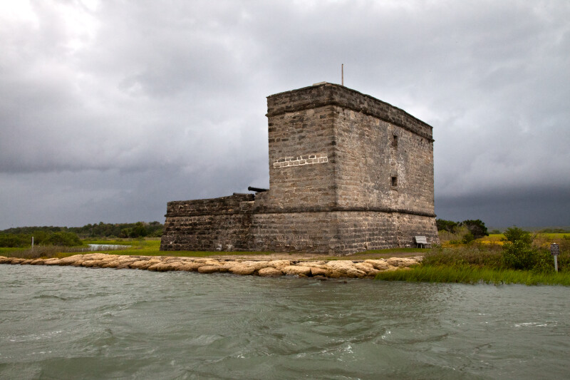 A View of Fort Matanzas, from the Northeast
