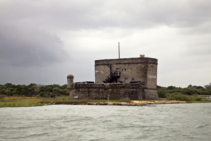 A View of Fort Matanzas, from the Southeast