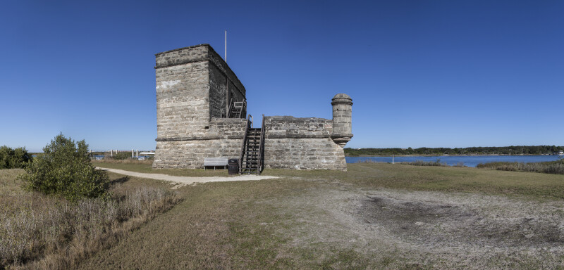 A View of Fort Matanzas, from the Southwest on Rattlesnake Island