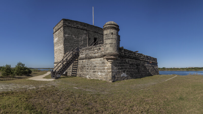 A View of Fort Matanzas, from the Southwest