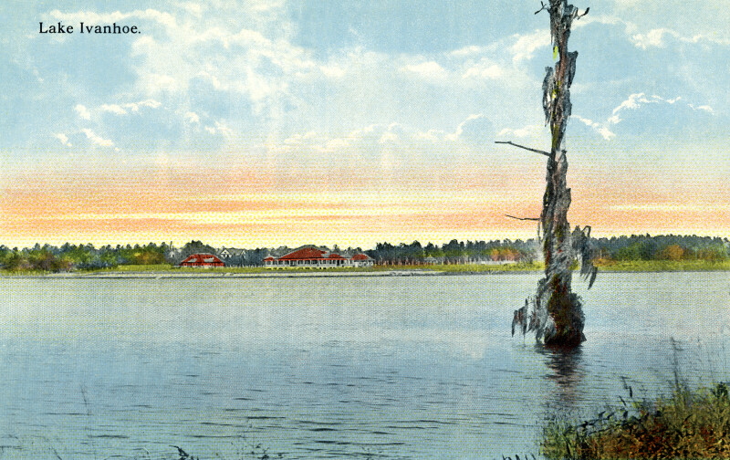 A View of Lake Ivanhoe