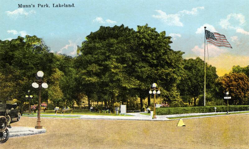 A View of Munn's Park