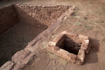 A View of The Air Vent of a Kiva at Quarai