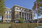 A View of the Alcorn County Courthouse